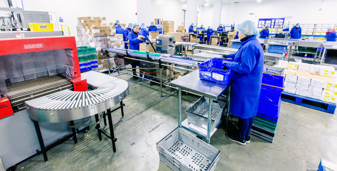 Co Packing - A highly specialised area of our business where customers' requirements are delivered in a supervised, bespoke packing environment.