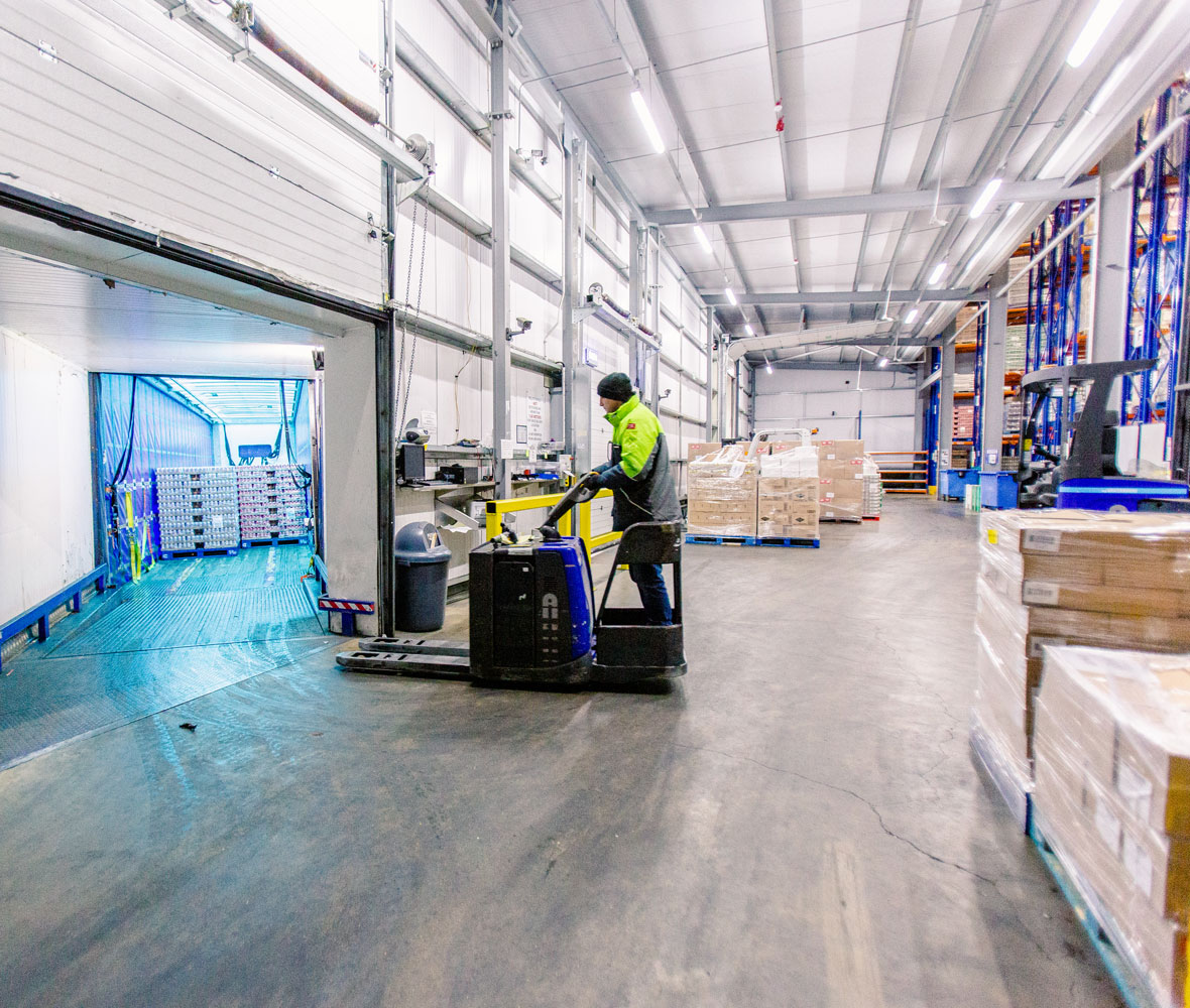 Frozen, Chilled & Ambient Warehouses